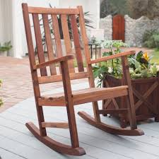 patio rocking chairs wood glf home pros white chair uncategorized