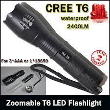le torche cree e17 cree xm l t6 3800lumens cree led torch zoomable cree led