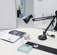 Microphone Desk Arm Metal Adjustable Arm Work Desk Lamp Table Lamp Black Lazada Ph