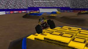 monster truck freestyle videos 27 truck freestyle at ms metroplex more sim monsters ror youtube