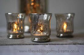 mercury tea light holders mercury silvered tea lights wedding table decorations the