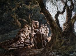 history christmas tree angels
