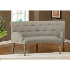 wonderful design of curved banquette seating for living room