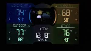 acurite multiple sensor color weather station 121hv 02083m
