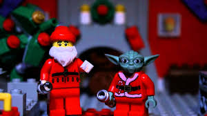 wars christmas wars christmas lego yoda vs santa stop motion animation