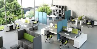 beautiful open office floor plan benefits in offices around the