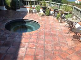 Patio Tile Flooring by Efflorescence Removal U2013 Tile Water Damage California Tile