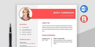 microsoft resume template ultimate collection of free resume templates css author