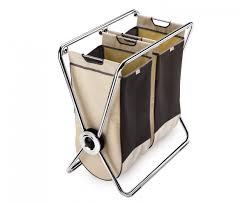 Laundry Hamper With Wheels by Fresh 3 Bin Laundry Hamper On Wheels 9305