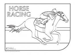 114 horse activities kids images coloring