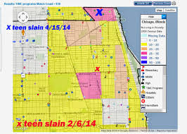 Chicago Community Map by Tutor Mentor Institute Llc April 2014