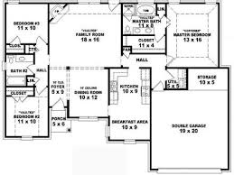 simple 4 bedroom house plans simple house floor plans 4 bedroom homes zone