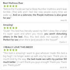 purple mattress reviews the best mattress for couples no more compromises in the bedroom