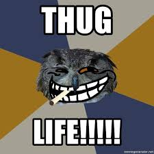 Art Student Owl Meme - thug life art student owl meme generator