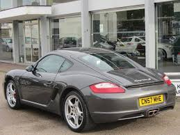 cayman porsche for sale used grey porsche cayman 2008 petrol 3 4 s 2dr coupe in great