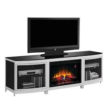 tv stands u0026 media cabinets with fireplaces modern blaze