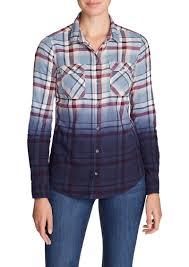 Flannel Shirts Eddie Bauer S Stine S Favorite Flannel Shirt Dip Dye