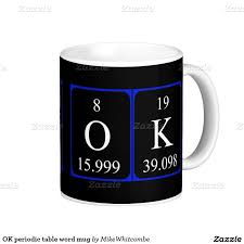 Periodic Table Mug 31 Best Chemia Mon Amour Images On Pinterest My Love Periodic