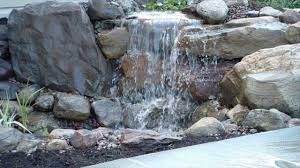 what are the relaxation things at backyard ponds and waterfalls