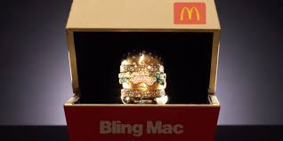 post it bureau mac mcdonald s absurdly lavish bling mac ring could be yours if you