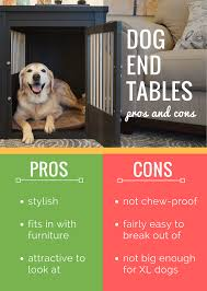 5 best dog crate end tables stylish furniture kennels for your