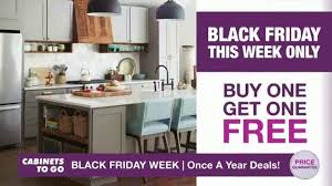 kitchen cabinets on sale black friday cabinets to go black friday week tv commercial kitchen and bogo cabinets