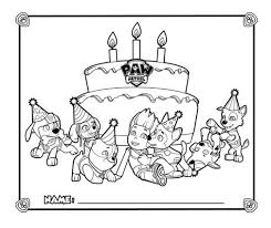 happy birthday paw patrol coloring page paw patrol birthday coloring pages paw patrol birthday card 101