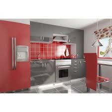 cuisine bordeaux laqué cuisine équipée de 2m20 oxane moderne design en coloris laqué