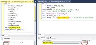 how to join tables in sql temporary tables sql with manoj