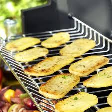 recette cuisine barbecue gaz cingaz tranches de pommes de terre grillées