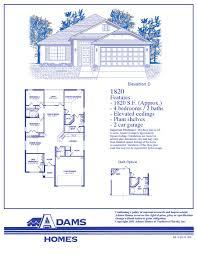 adams homes floor plans adams homes floor plans 1820 home decor ideas