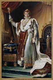 napoleon i in his coronation robes by françois gérard circa 1805