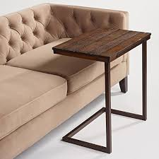 Under Tv Table Wood Laptop Table For Couch Recliner And Sofa U2013 Slide Under Couch