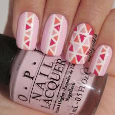 nail tape designs nail art