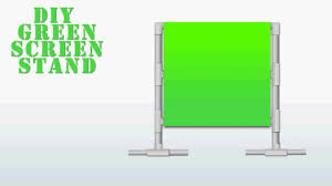 how to create a diy green screen setup on the cheap