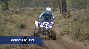 how to break in your atv u0027s engine yamaha sport atv tech tip video