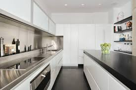long narrow kitchen designs kitchen decorating one wall galley kitchen design long thin