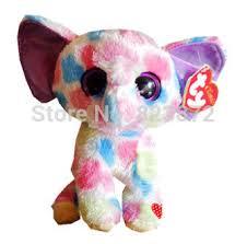 ty beanie boos cute colorful elephant plush animals 6 u0027 u0027 15cm