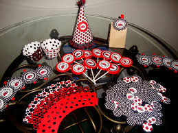 red u0026 black party decorations decorating of party