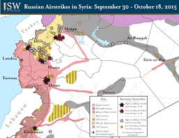Syria Fighting Map by Syria Denies Russian Ground Forces In Syria After Pro Government