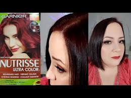 black hair to raspberry hair garnier nutrisse ultra color 462 tempting raspberry tutorial and