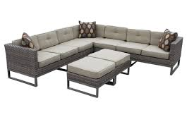 Curved Outdoor Sofa by Decoration Outdoor Sofa Sectional With Modern Wicker Sectional