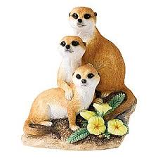 meerkat ornament wildlife figurines meerkat ornaments