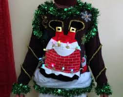 light up ugly christmas sweater dress double sided light up christmas sweater garland 2 doves a