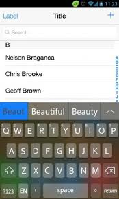 iphone keyboard apk go keyboard iphone ios 7 black 1 2 apk for android aptoide