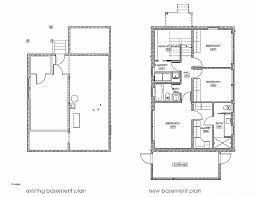 single story house plans with basement house plan fresh one storey house plans with basement one story