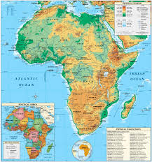 Physical Maps Physical Maps Of Africa