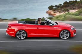 convertible audi red 2017 audi s5 and a5 cabriolet chop their tops at la by car magazine