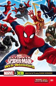 marvel universe ultimate spider man warriors vol 1 1 marvel