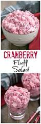 thanksgiving cranberry cranberry fluff salad that skinny can bake